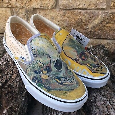 Vans x Vincent Van Gogh Classic Slip On Skull (In Hand) VN0A38F7U48 dff7ccd22