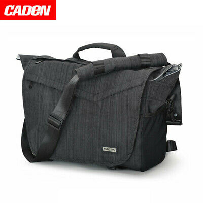 Caden Waterproof DSLR SLR Camera Bag Messenger Shoulder Bag For Canon Nikon Sony