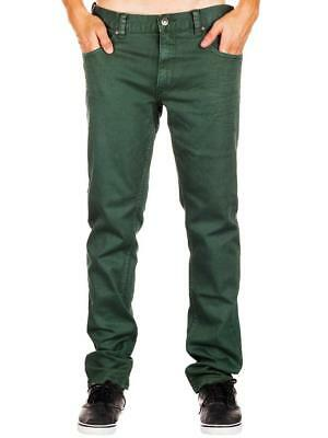 Rip CURL SLIM COLOUR BOMB JEAN Mens Jeans Denim Pants - CDE4XA Green Rrp $79.99