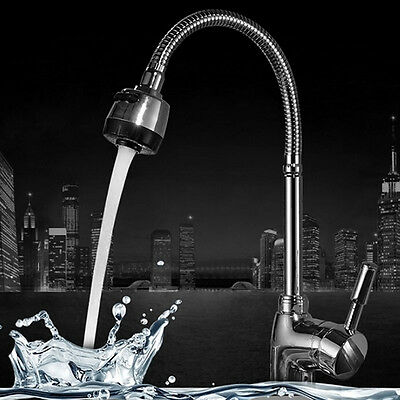 Solid Brass Kitchen Mixer Cold Hot Kitchen Tap Single Hole Water Tap Faucet New