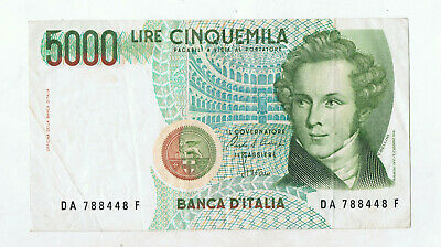 Italy 5000 Lire  Banknote