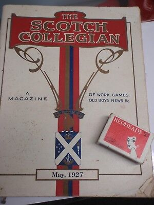 1927  Scotch Collegian,   Magazine, 117 pages, illustrated