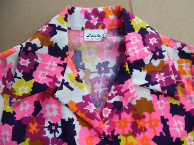 VINTAGE 1960's LANIE J. STYLED IN CALIFORNIA LONG SLEEVE BLOUSE WOMENS 38' CHEST