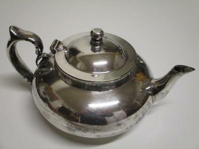 Antique Perfect Tea-Pot 101-7 Robur Silver Plated 4 Cup Teapot with Insert c1927