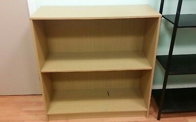 Office Bookcase Beech single Adjustable Shelf