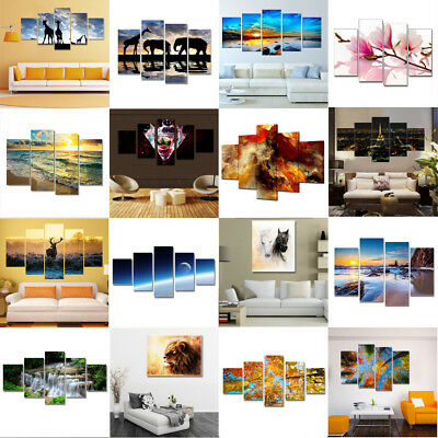 Unframed Modern Art Canvas Oil Painting Picture Print Home Wall Mural Decor Gift