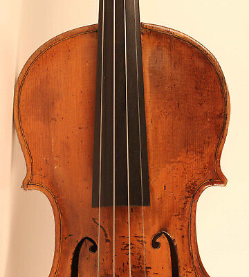 old rare violin Mantegatia 1779 violon geige cello viola 小提琴 ヴァイオリン italian