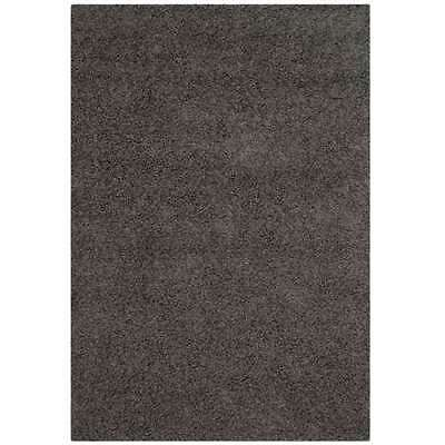 Safavieh Athens Shag Collection 5 x 7 Foot Carpet Area Rug, Dark Grey (Open Box)