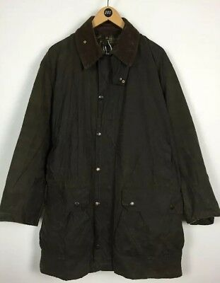 Men's Barbour Wax jacket / Large / Border / Country / Outdoor / Field