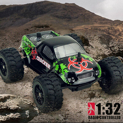 Virhuck 1:32 2.4G 2WD 20km/h High Speed Off-road Remote Control Racing Car Truck