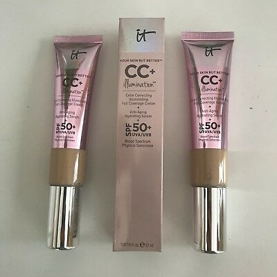 It Cosmetics CC+ Illuminating full coverage cream SPF 50 light/medium 32ml