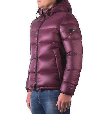 Down jacket PEUTEREY VELOSO MAN FEATHER NYLON RIPSTOP BURGUNDY PEU2593 01181371