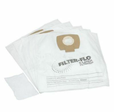 Vacuum Cleaner Filter-Flo Synthetic Dust Bags for Nilfisk Buddy15 BAG326