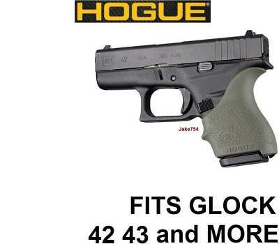Hogue HANDALL S&W M&P Shield/Ruger LC9 Beavertail Grip Sleeve-OD Green # 18401