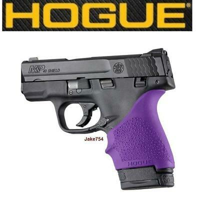 Hogue HANDALL S&W M&P Shield/Ruger LC9 Beavertail Grip Sleeve Purple # 18406