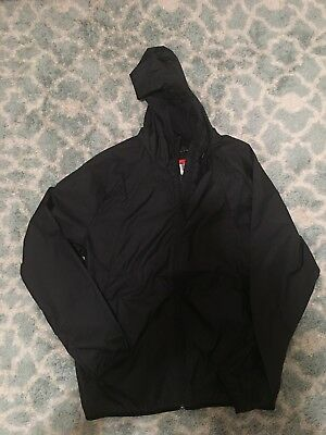 a7e4779082bb5e Mens Nike Air Jordan Jumpman Windbreaker Jacket Black 897884-010 Size L