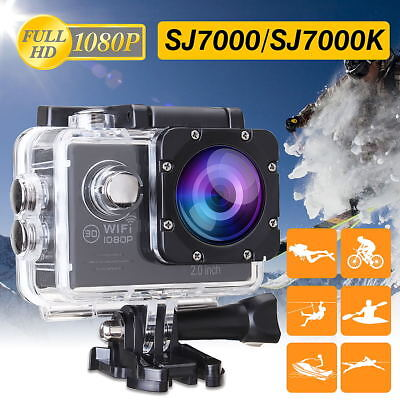 4K HD 1080P Pro Action Camera Sport DV 16MP Go WiFi Camcorder Waterproof DVR US