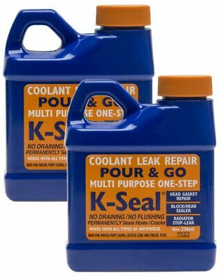 2x K-Seal - Permanent Coolant Leak Repair Head Gaskets Radiators Cooling Systems
