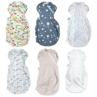 Gro Gro-Snug Grobag Swaddle Baby Sleeping Bag 2-in-1 Dual Use for Newborns