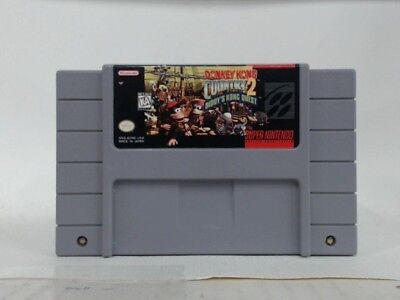 Donkey Kong Country 2 Super Nintendo Snes  Acceptable