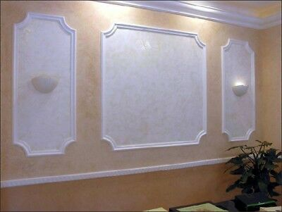 *FRAME* 3D Decorative Wall Stone Panels. Form Plastic mould for Plaster, Gypsum