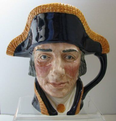 Vintage LORD NELSON Toby Mug by Royal Doulton 1950's
