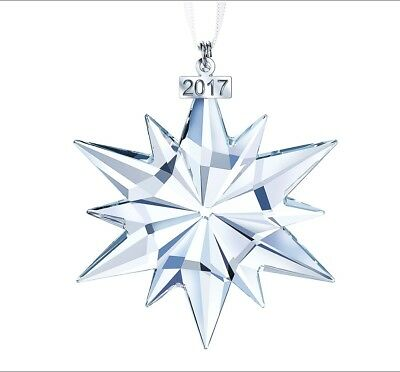 2017 SWAROVSKI Annual Edition Large Christmas Ornament Crystal #5257589 No Res.