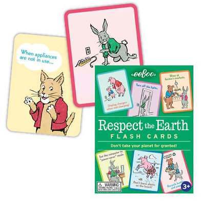 eeBoo: Respect The Earth - Flash Cards Board Game