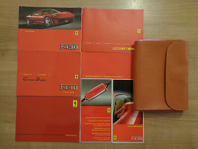 Ferrari F430 Coupe Owners Handbook/Manual and Pack
