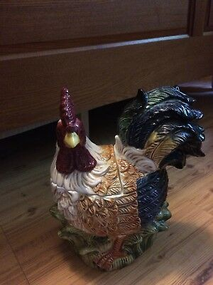 Rooster Cookie Jar