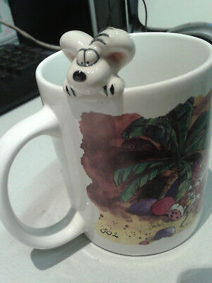 """Diddl Tasse  """"Don´t worry, be Hippo!"""""""