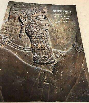 Sothebys catalog ANTIQUITIES and ISLAMIC Works of Art #6642 Greek Roman Egyptian