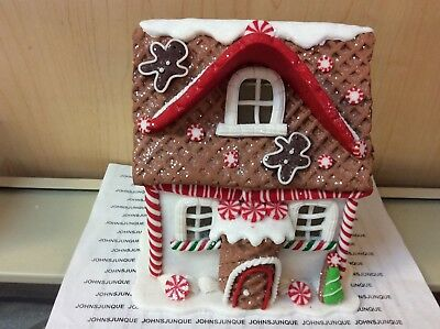 Gingerbread House With Cone Door Kurt Adler Lights Led New With Tags