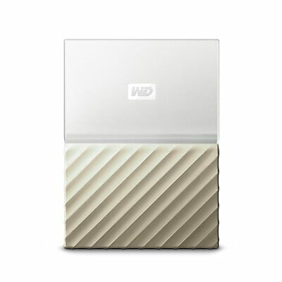 WD My Passport Ultra 2TB White Gold Manufacturer Refurbished Hard Drive by We...