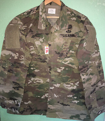 Us Army Ocp Scorpion R/s Insect Guard Shirt Large X-Long Used (4_F36)