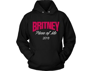 Personalised Britney Spears Piece Of Me 2018 Tour, Pink Glitter Hoody