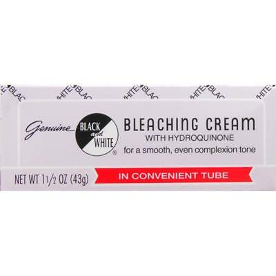 Black And White Bleaching Cream Genuine .75 Or 1.5 Oz