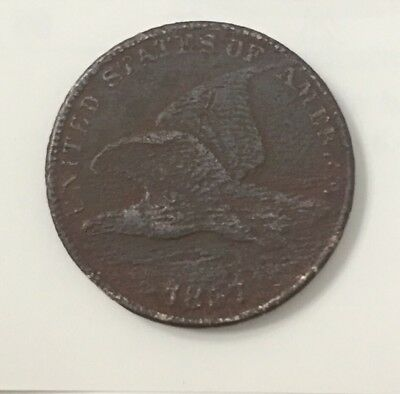 1857 1C Flying Eagle Cent
