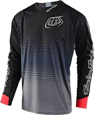 2019 Troy Lee Designs Radius 2.0 Starburst Jersey-Gray-M - Motocross Dirtbike Of