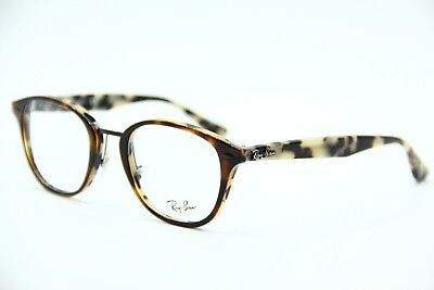 afb08ae8027 New Ray-Ban Rb 5255 5676 Havana Authentic Rx Eyeglasses Frame Rb5255 50-21