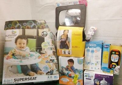 Summer Infant 4 In 1 Superseat Swift Classic Carrier Dr Browns Bottles Nipples