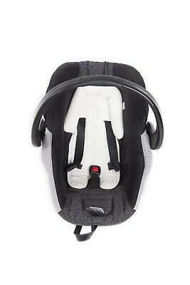 Playette Head Support Ultra Soft Cream,,great for car seats,strollers, bouncers