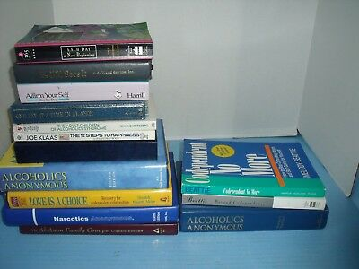Lot Of 14 Addiction Recovery*alcoholics Anonymous*as Bill Sees It*one Day At....