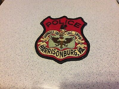 Harrisonburg Virginia Va Police Patch