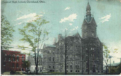 Central High School, Cleveland, Ohio 1912