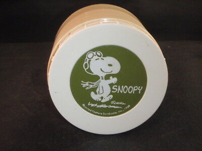Vintage Snoopy King Seely Thermos 1969 Model #1155 Plastic Insulated Jar Usa