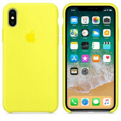 Flash  GENUINE ORIGINAL Apple Silicone Case NEW iPhone X RRP $39