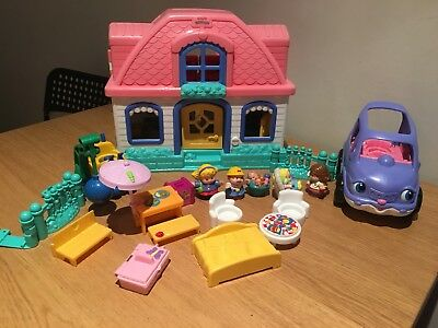 fisher price little people House Picnic Set Cars People Bulk Buy Melb Postage$15