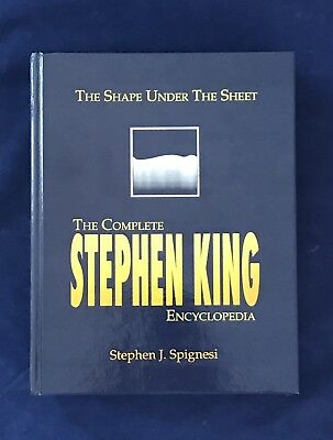 The Complete Stephen King Encyclopedia, The Shape Under The Sheet,1991 780 Pages
