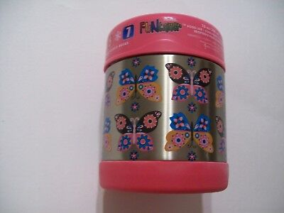 Butterflies Thermos Funtainer 10 oz Food Jar NEW by Thermos!!